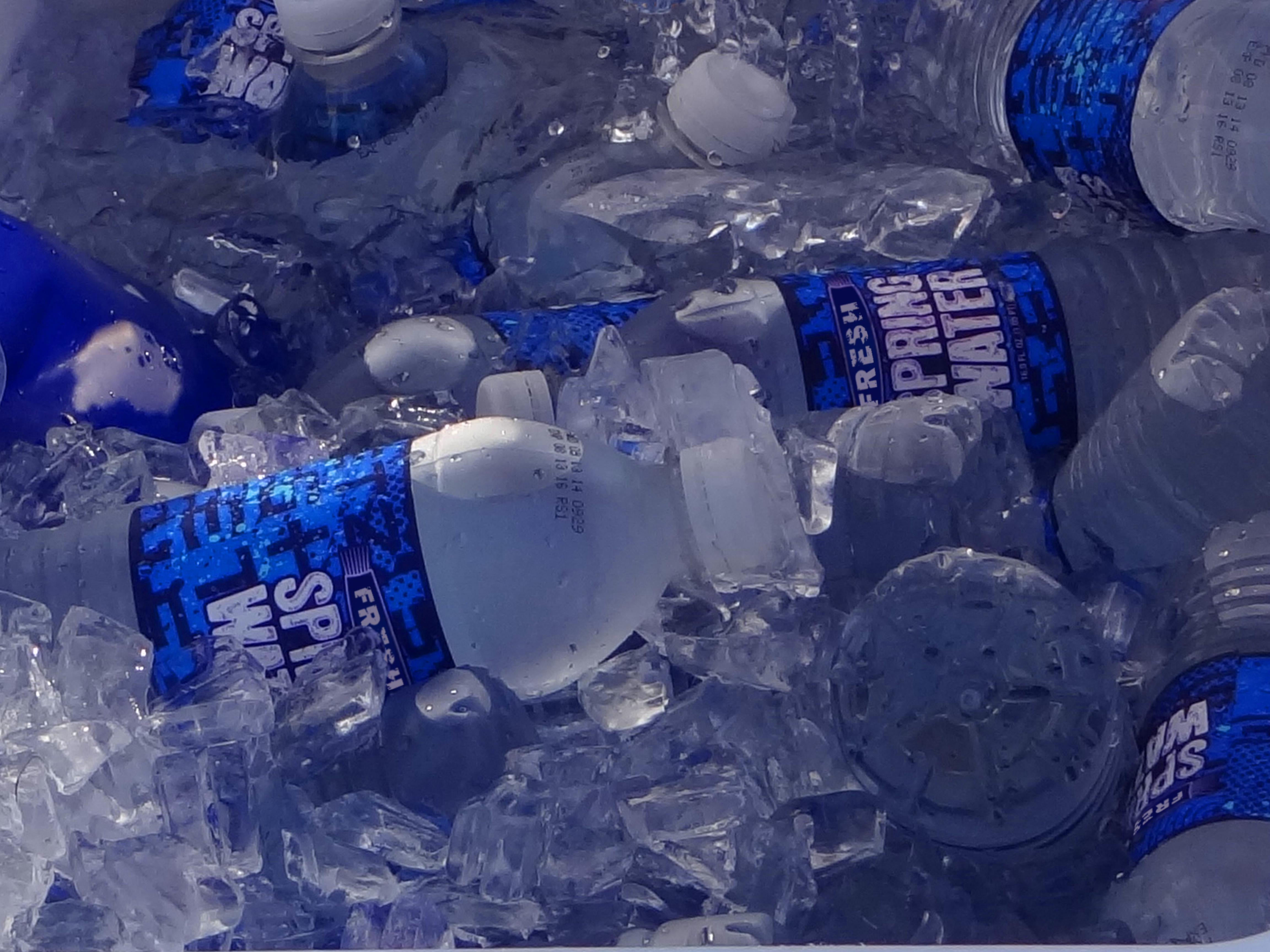 Bottled Water In Cooler